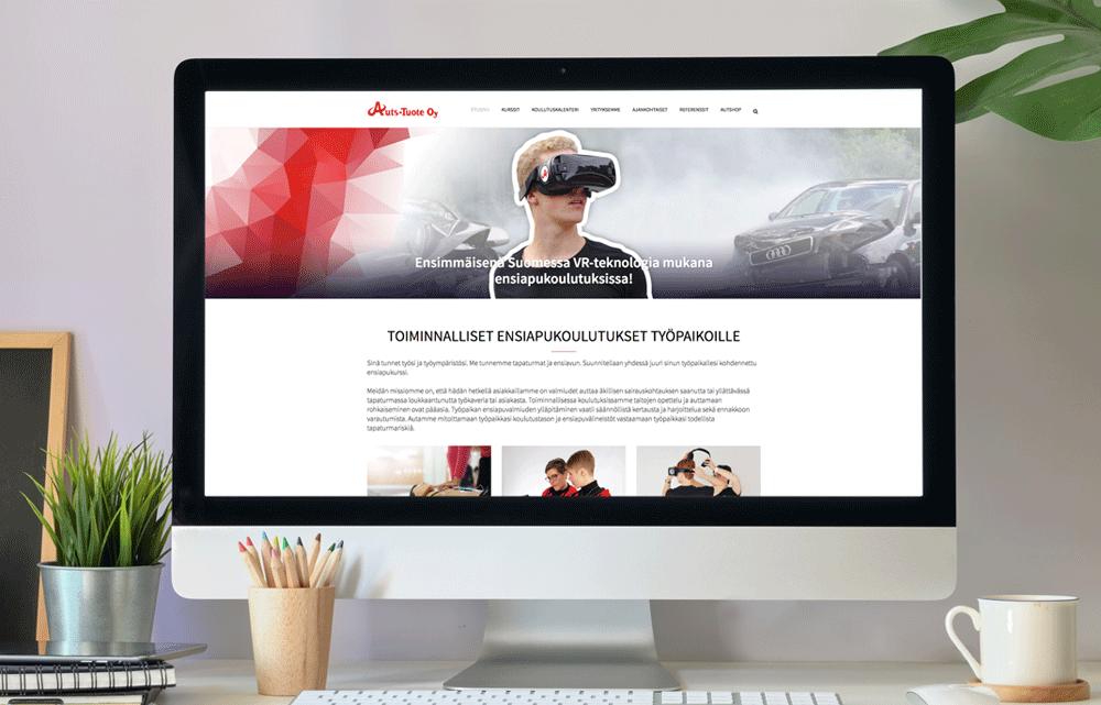 Auts-tuote verkkosivut