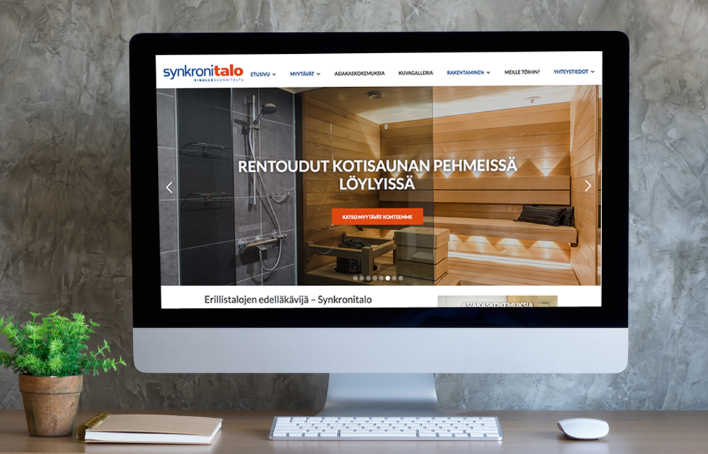 Synkronitalo verkkosivut