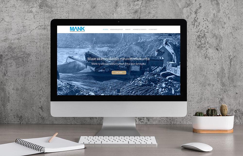 Maarakennusalan neuvottelukunta MANK ry:n verkkosivut